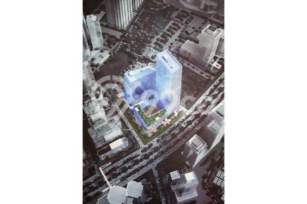 FOR SALE OFFICE SPACE TOWER SUDIRMAN 7.8 – DIRECT CONNECTION TO MRT STATION 12900237