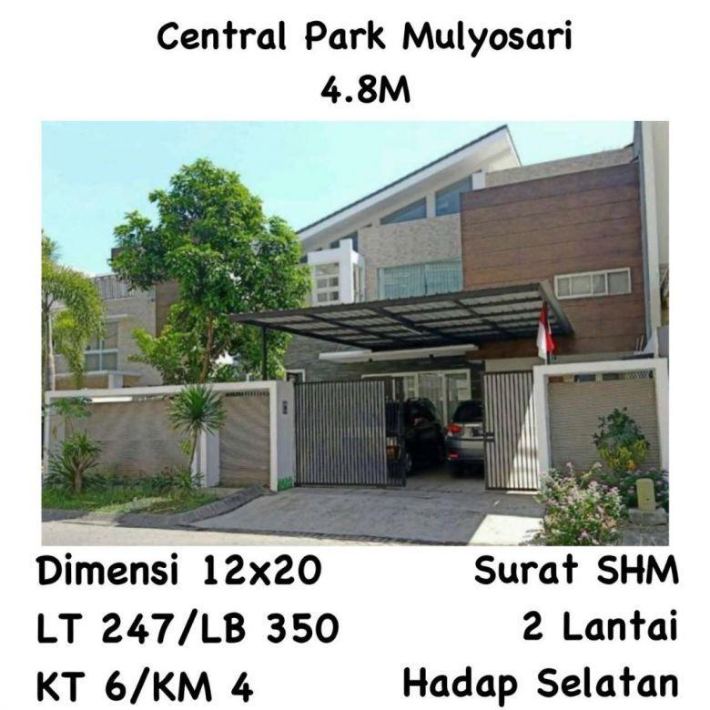 Rumah Central Park Mulyosari Mulyorejo Surabaya Mewah Nego