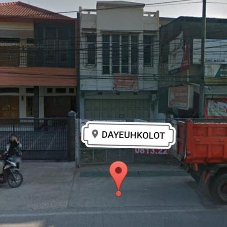 Turun Harga Dijual Ruko Bangunan BARU Jalan Raya Dayeuh Kolot