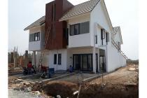 Rumah cluster 2lantai fasilitas kolam renang dan sport center harga 500jtan