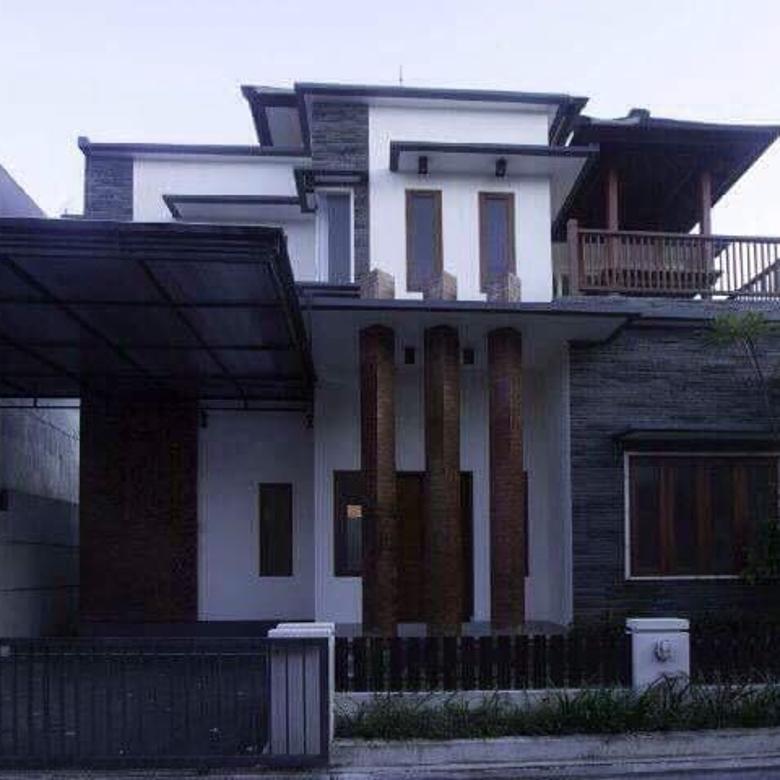Rumah lantai 2 minimalis di tirta lepang kesiman biaung