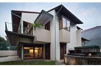 rumah mewah hoek 3 lantai Pondok Indah Jakarta Selatan