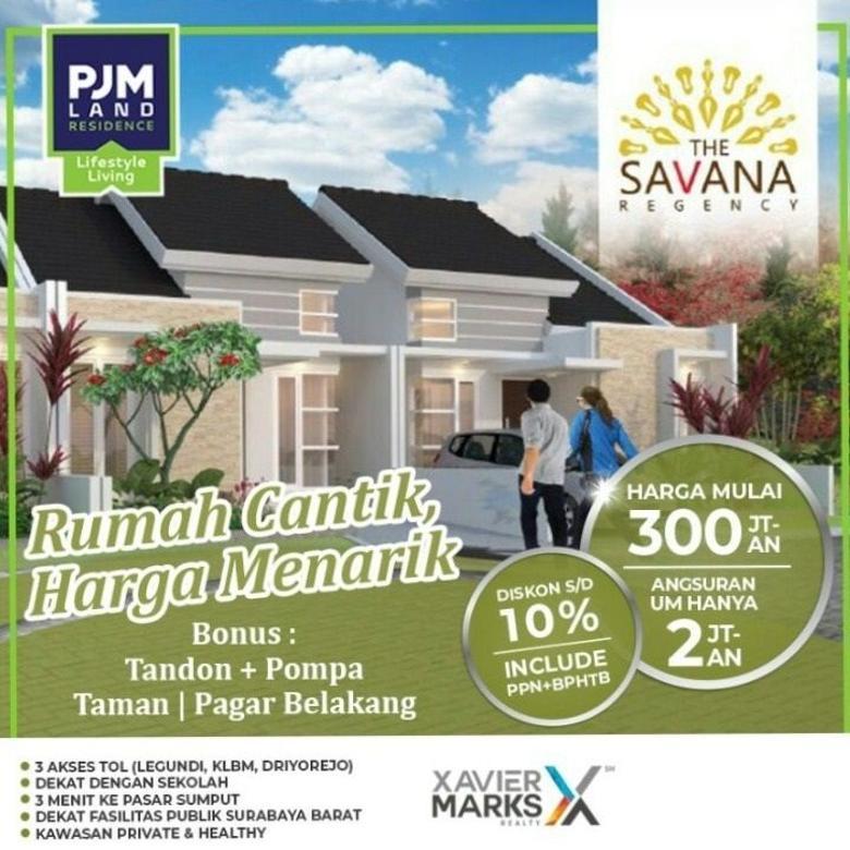 Dijual Rumah di Savana Regency Gresik, Harga Menarik!!