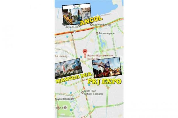 Jual Apartemen Rajawali Edelweiss Kemayoran Jakarta Pusat Harga NEGO 12899261