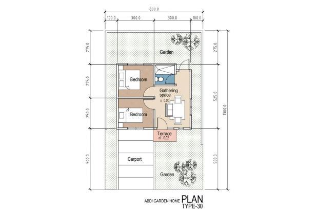 Rp512jt Rumah Dijual