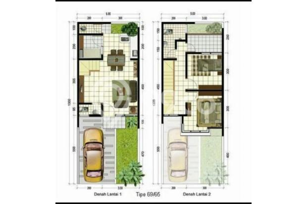 Legalitas SHM + IMB Dua Lantai Bangunan Baru 16508746