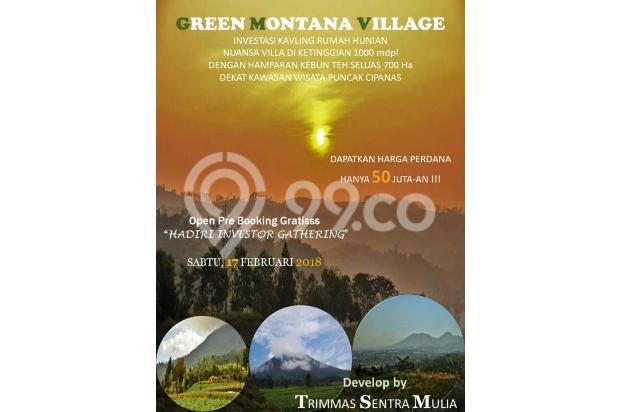 Green Montana Village, 30 Menit ke Kawasan Wisata Puncak Cipanas 15829479