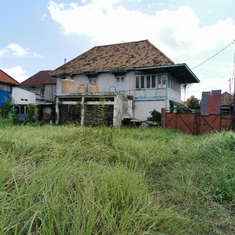 Dijual Tanah 1500 m2 + Bangunan Pusat Kota View Sungai Musi
