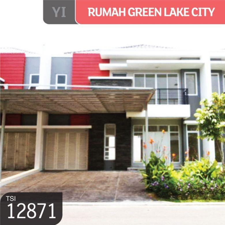 Rumah Green Lake City, Cluster Amerika Latin, Tangerang, 10x18 m², 2 Lt, SH