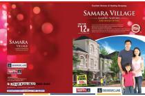 Rumah Cantik dan Luas di Gading Serpong New Samara Village hanya 1.2M saja