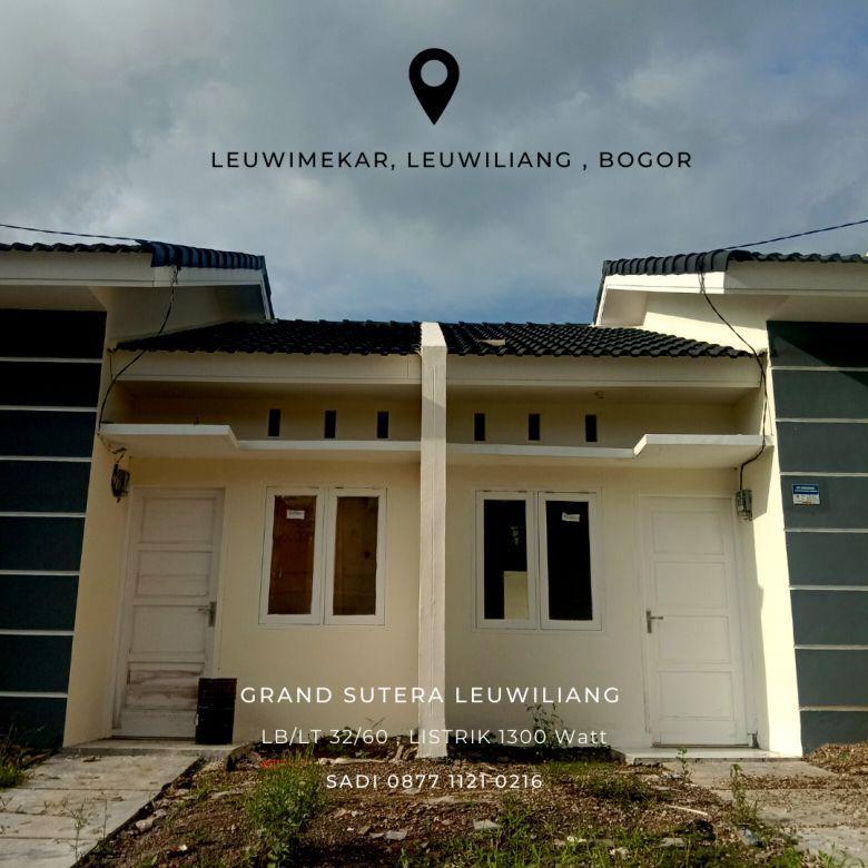 Take Over Type 32 60 Rumah Subsidi Grand Sutera Leuwiliang