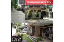 Rumah Tanjung Duren, Jakarta Barat, 11,5x18m, 2 Lt, SHM