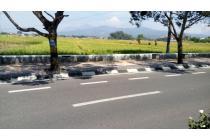 Tanah Sawah di Pinggir Jl. Raya Soreang
