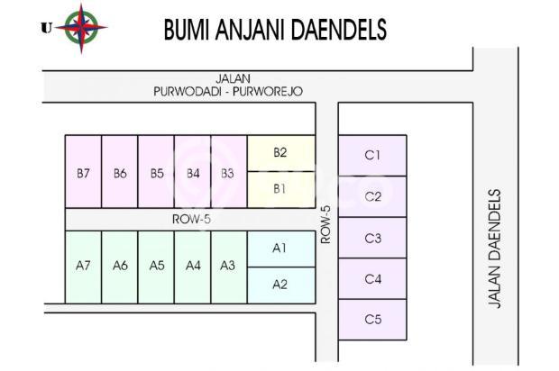 Kapling Dekat Daendles KM.8, Bertahap 12X Bunga 0 % 16224091
