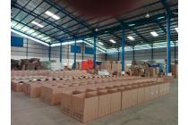 Pabrik/ Gudang di Raya Serpong Parung Lt.10.881 m2 Gunung Sindur Bogor