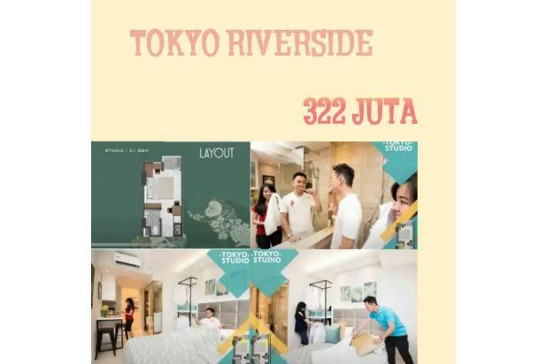 Rp322jt Apartemen Dijual
