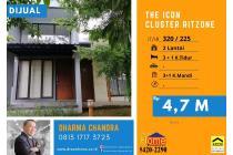 BUB 1! Rumah di Kawasan The Icon Cluster Ritzone