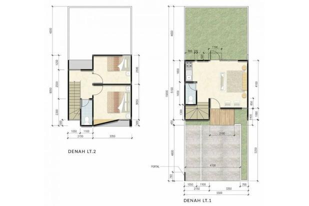 Rp733jt Rumah Dijual