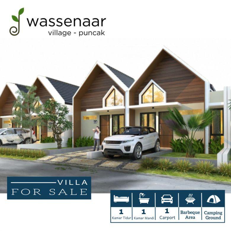 Villa Dijual Puncak Fasilitas Smart Home System Free SHM