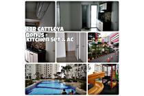 Unit Bassura City atas Mall tower Cattleya  bonus kitchen set