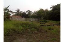 Tanah Komersial di Jl Raya Cisauk - Legok. 5 menit dari Stasiun KA Cisauk