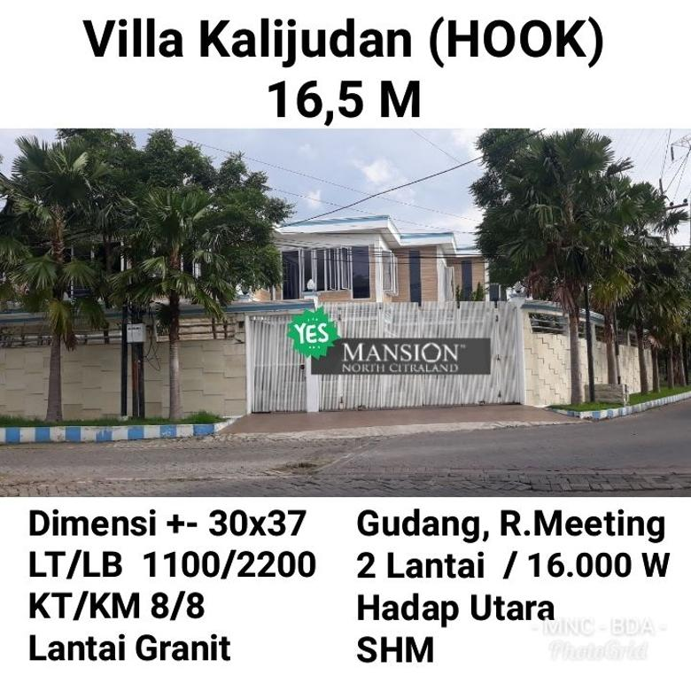 Rumah Villa kalijudan kenjeran MERR Surabaya HOOK Nego