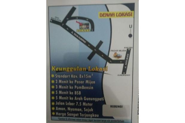 Kavling Mijen Semarang Dekat BSB 120m2 Harga 90 Jutaan Bisa Dikredit 3 Thn 12397370