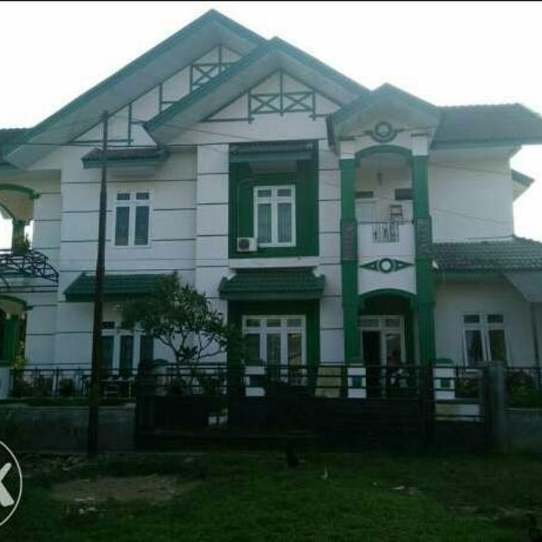 Dijual Rumah 3 lantai. Di jalan Kualanamu. T.Morawa. DeliSerdang.