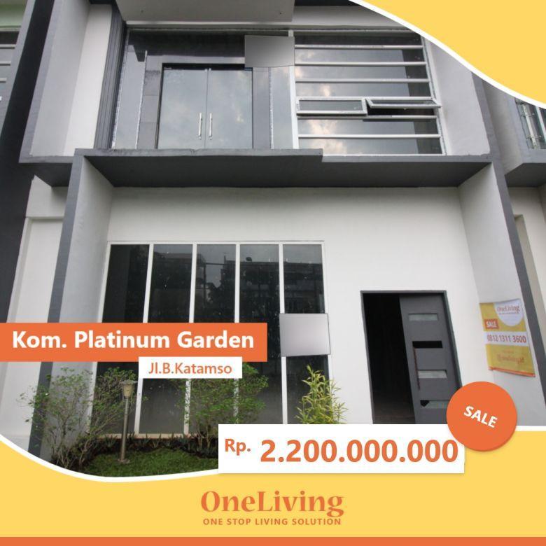 Dijual Rumah Platinum Garden Jalan B Katamso Medan