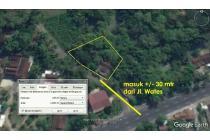 Tanah Pekarangan Jl Wates 1004 m² Plus Rumah 200 m²