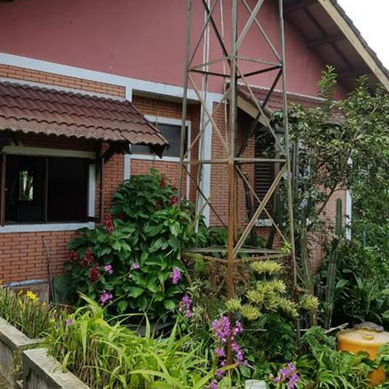 Villa di Ciawi, Bogor, Jawa Barat ~ Halaman Luas ~ Swimming Pool