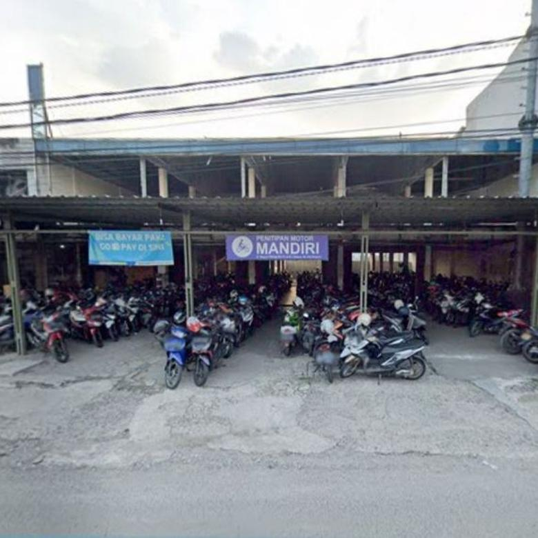 Dijual Bangunan Fungsi Tempat Parkir Motor BISA 2X BAYAR!!