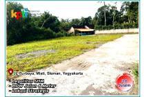 Tanah di Jalur Tol Yogyakarta Borobudur, Mlati Residence