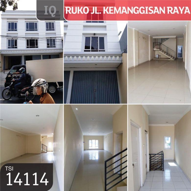 Ruko Kemanggisan Raya, Jakarta Barat, 4,5x24m, 3¾ Lt, SHM