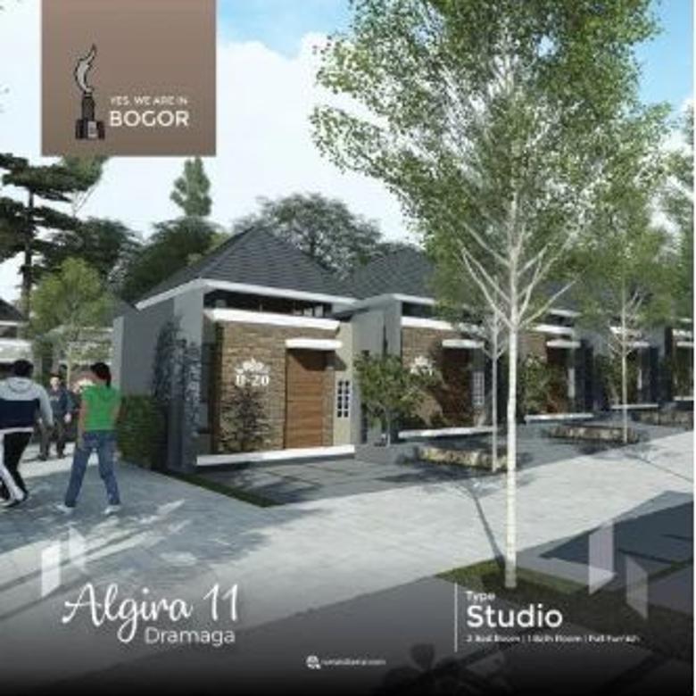 Dijual Rumah Asri Strategis di Algira 11 Dramaga, Bogor