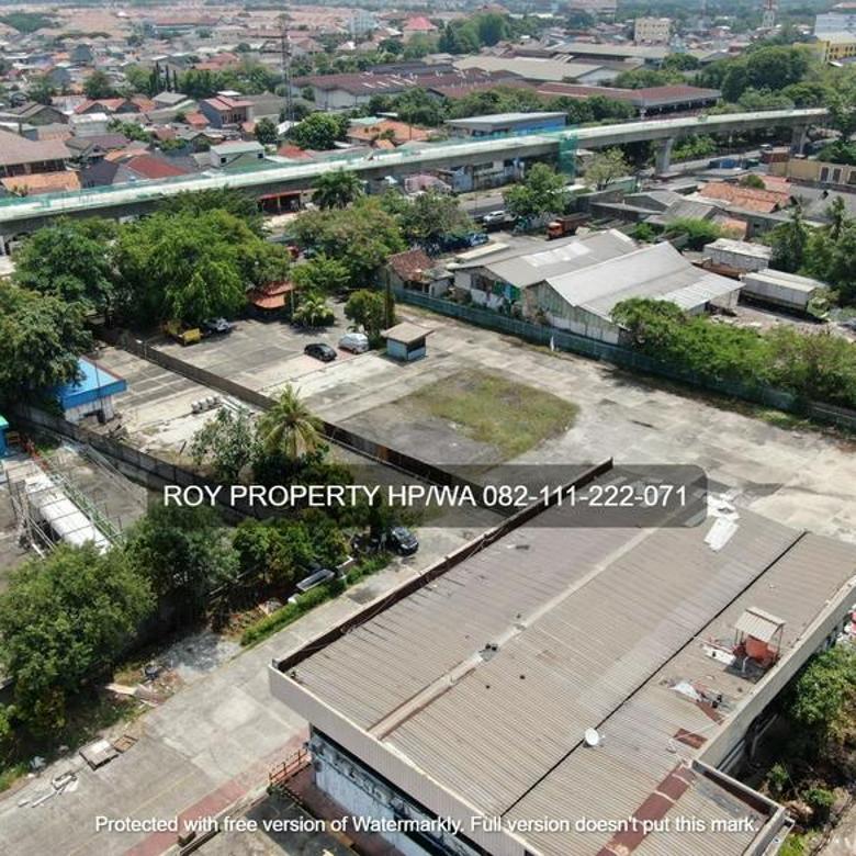 Tanah Cakung Timur 5,4 Ha Raya Bekasi Jakarta Timur Siap Pakai *INDUSTRI