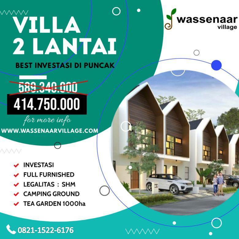 Villa Puncak Nuansa Alam Fasilitas Glamping Area