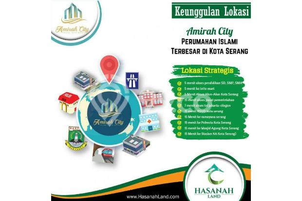 Perumahan Syariah Serang Amirah City Serang 13696674