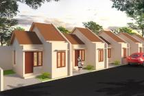 Rumah indent minimalist di kota denpasar one gate system
