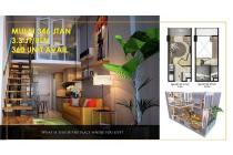 Dijual Apartemen Crown Residence Tipe Loft Lokasi Strategis, Surabaya