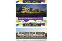 Ruko 3 LT, di kawasan elit Taman Palem Cengkareng, Jakarta Barat, hrg 2M an