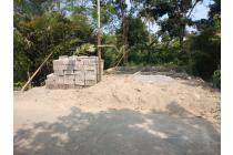 Jual Tanah Murah Di Margorejo Tempel,Sudah Ada Fondasi