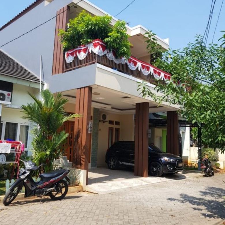 Rumah di Bekasi, 2 Lt, Fully Furnish, Akses TOL Jatiasih