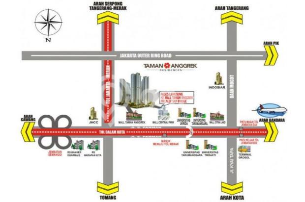 DIJUAL APARTEMEN BERKUALITAS UNIT STUDIO TA RESIDENCE, JAKARTA BARAT 13292507