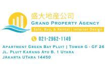 jual studio semi furnishe Apartemen Green Bay di tower DAHLIA