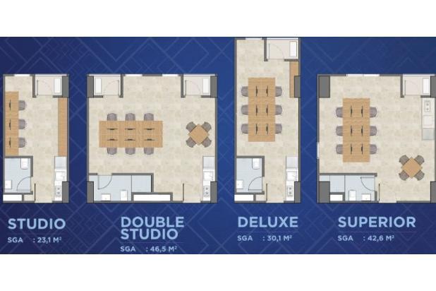 Rp422jt Apartemen Dijual