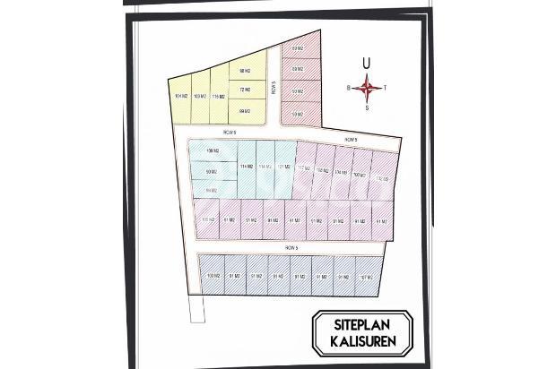 Jual Tanah Luas 89 M2 Konsep Cluster Di Kalisuren Depok, SHM. 13427405