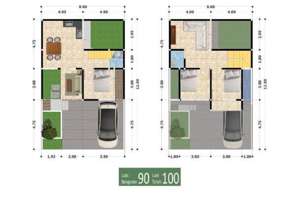 Rp408jt Rumah Dijual
