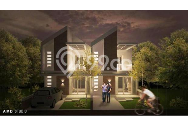Rumah 2 Lantai dengan Fasilitas Kolam Renang Pribadi Di Bandung Murah 13245011