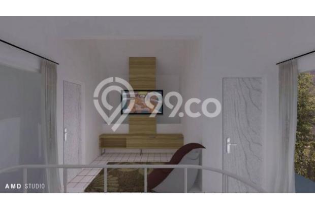Rumah 2 Lantai dengan Fasilitas Kolam Renang Pribadi Di Bandung Murah 13245015